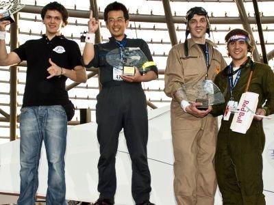 Pierwszy z lewej: Tomasz Chodyra