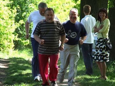 W biegu uczestniczyli także członkowie bolesławieckiej PO