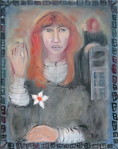 Portert Doroty Jeal namalowany przez Lydię Corbett