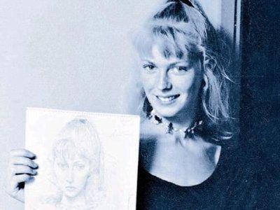 Lydia Corbett w latach młodości
