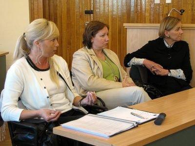 Pierwsza od lewej: Marzanna Słotwińska. Pierwsza od prawej: Teresa Rudzińska