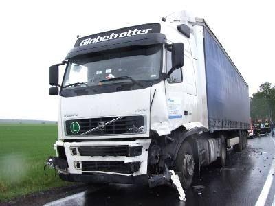 Kierowca ciężarówki jechał od strony Bolesławca