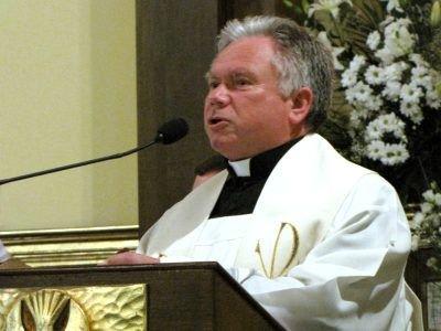 Ks. dziekan Stanisław Kusik mówił m.in. o tym, jak ważnym wydarzeniem w wymiarze duchowym było ustanowienie św. Marii de Mattias patronką Bolesławca