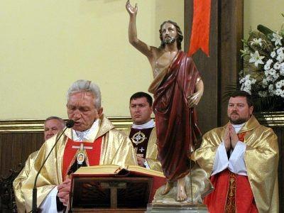 W kościele pw. Matki Bożej Nieustającej Pomocy odbyła się msza pod przewodnictwem ks. prałata Józefa Gołębiowskiego