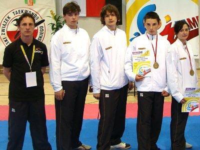 Od lewej: Mariusz Sulma, Paweł Knapik, Yevgen Nikitin, Grzegorz Kozioł, Justyna Szyposz, Patrycja Piasecka.