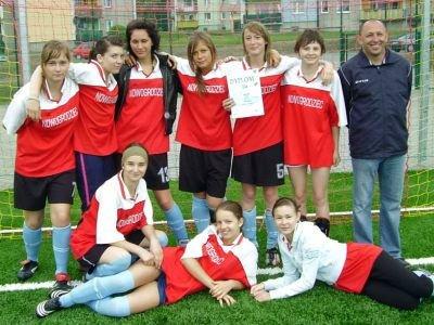 Piłkarki z Nowogrodźca