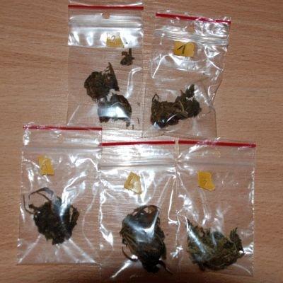 W mieszkaniu 24-latka funkcjonariusze znaleźli 30 porcji marihuany i 130 woreczków strunowych