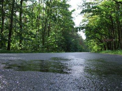 Mokre jezdnie zwiększają ryzyko wypadku