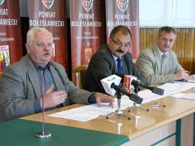 Od lewej: Roman Palczewski, Cezary Przybylski i Dariusz Kwaśniewski