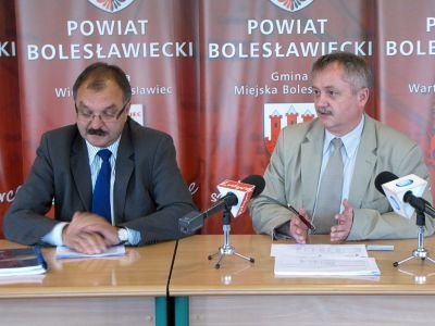 Od lewej: Cezary Przybylski i Dariusz Kwaśniewski