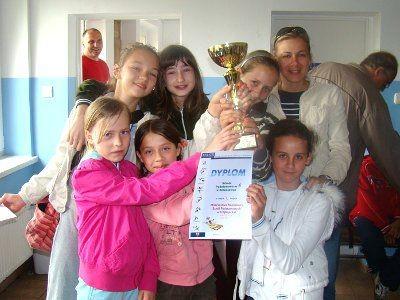 Misrzyniami miasta została drużyna dziewcząt z SP nr 4