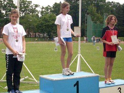 Nikola Tomczyk była trzecia w biegu na 300