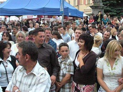 Podczas koncertu plac był wypełniony po brzegi