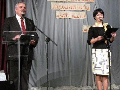 Uroczystość otworzyli dyrektorka BOK Ewa Lijewska i Cezariusz Rudyk, szef PCEiKK