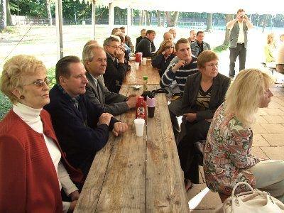 Na spotkanie z Lidią Geringer de Oedenberg przyszło ok. 60 osób