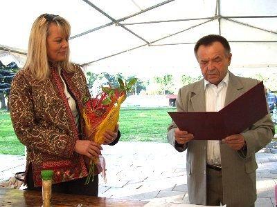 Stanisław Chwojnicki pogratulował Lidii Geringer de Oedenberg wyborczego wyniku