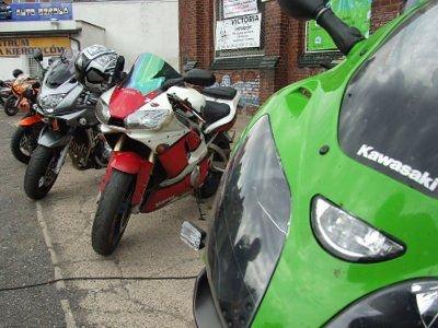W czasie imprezy można było obejrzeć sportowe motocykle
