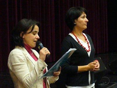 Iwona Bojko i Ewa Lijewska z Bolesławieckiego Ośrodka Kultury