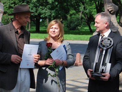 Bogusław Nowak, Laura Słocka-Przydróżna i Dariusz Kwaśniewski