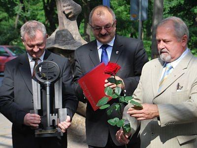 Dariusz Kwaśniewski, Cezary Przybylski i Karol Stasik