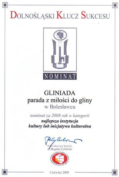 """Organizowana przez """"Via Sudetica"""" Gliniada została nominowana do nagrody"""