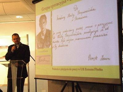 Dr Robert Klementowski opowiadał o powstaniu i funkcjonowaniu PUB w Bolesławcu