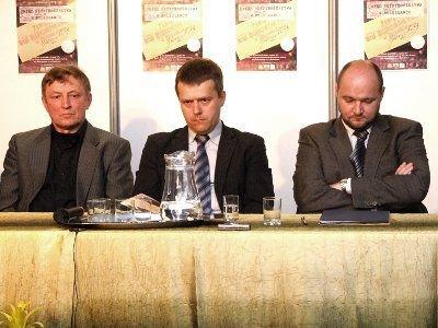 Zdzisław Abramowicz, Mariusz Olczak i Paweł Piotrowski