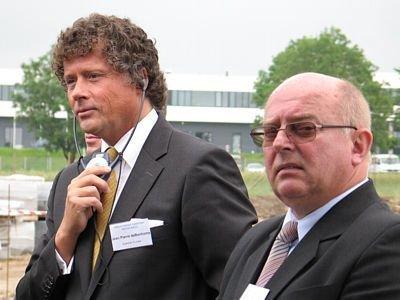 Jean Pierre de Bonhome (Guardian Europe) oraz Jan Banik (Invest Park)