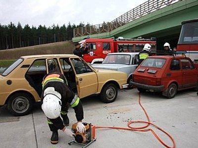 Ćwiczenia odbyły się na nowej autostradzie A-4