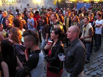 Około 250 osób oglądało występ