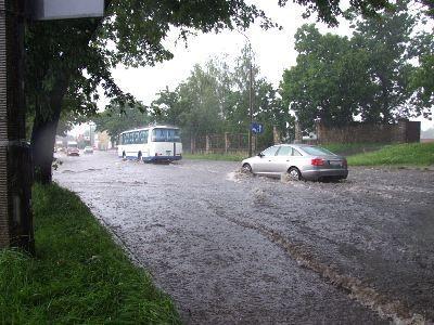Tak wyglądała ulica Zgorzelecka