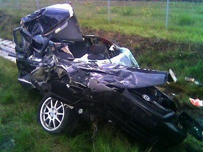 W wypadku zginęła pasażerka samochodu Kia Rio