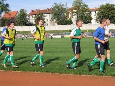W meczu sparingowym z Górnikiem Polkowice zagrało wielu młodych piłkarzy