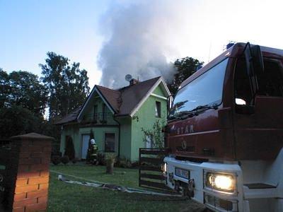 Dom został prawdopodobnie podpalony