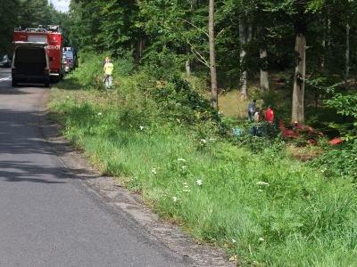 Do tragicznego wypadku doszło na łuku drogi między Osiecznicą a Przejęsławiem