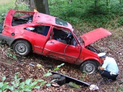 Kierowca Forda Escorta był trzeźwy