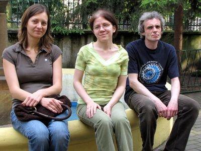 Elżbieta Rutkowska-Filon, Anna Ryżewska (w środku) i Sławomir Pietrzak