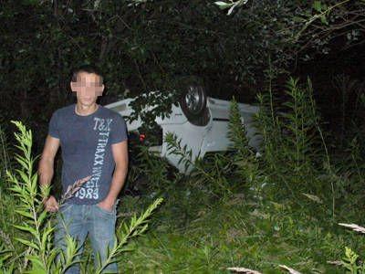 Kierowca wyszedł z wypadku bez szwanku