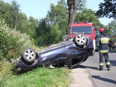 Do zdarzenia doszło na drodze z Łazisk do Bolesławca