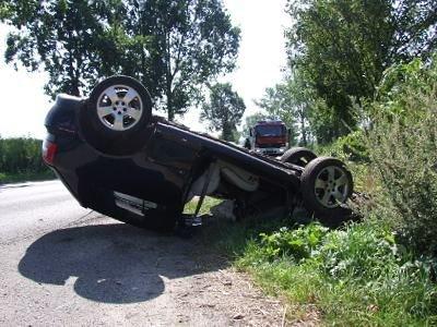 Do szpitala zostały odwiezione trzy osoby z Audi