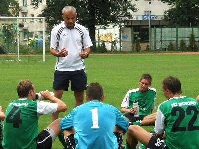 Krzysztof Lechowski nie jest już trenerem drużyny BKS Bobrzanie
