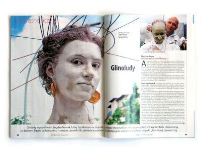 """Reportaż Grażyny Hanaf i Krzysztofa Gwizdały opublikowano w dziale """"Na własne oczy"""""""