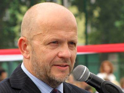 Uroczystość otworzył Kornel Filipowicz, dyrektor MZS nr 2