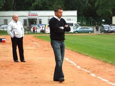 Trener Prochowiczanki Marcin Ciliński