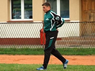 Trener BKS Marek Przykłota