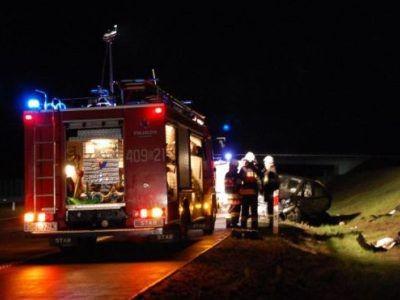 W akcji brały udział trzy zastępy straży pożarnej (dwa zawodowe i jeden ochotniczy)