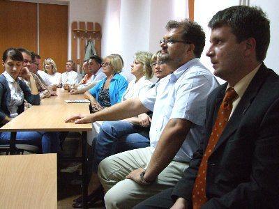W spotkaniu uczesniczyli także Piotr Żak i Tomasz Gabrysiak z bolesławieckiego magistratu