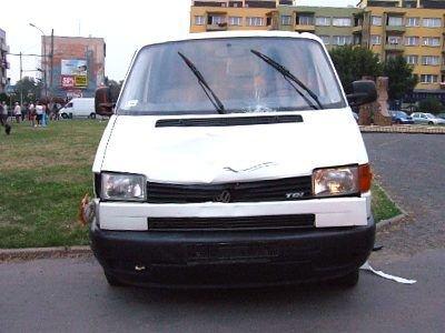 Kierowca busa zatrzymał się na placu księdza Popiełuszki