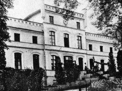 Mietków, fasada, pocz. XX w.