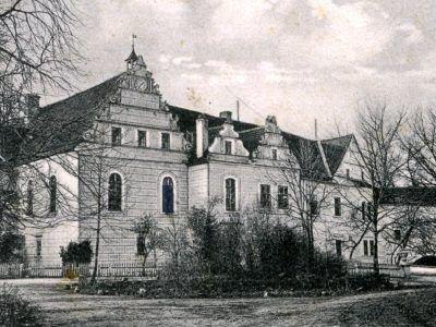Warta Bolesławiecka, dwór ok. 1920 r.